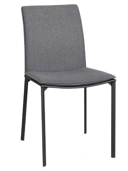 St Ives Charcoal Dining Chair - Pair - UK Mainland Deivery